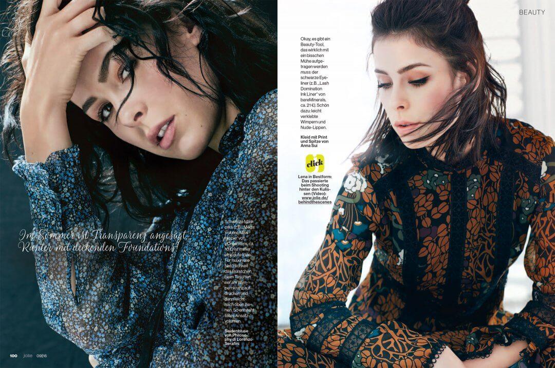 ed3afa1fed8 Lena Meyer-Landrut with L'Oréal - Florian Grill